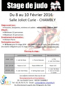 stage Chambly 02-2016
